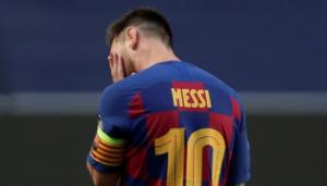 """Imagen de Messi en el diario """"Marca"""""""